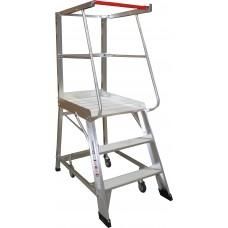 Monstar 3 Step Order Picking Ladder