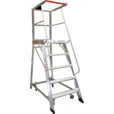 Monstar 5 Step Order Picking Ladder